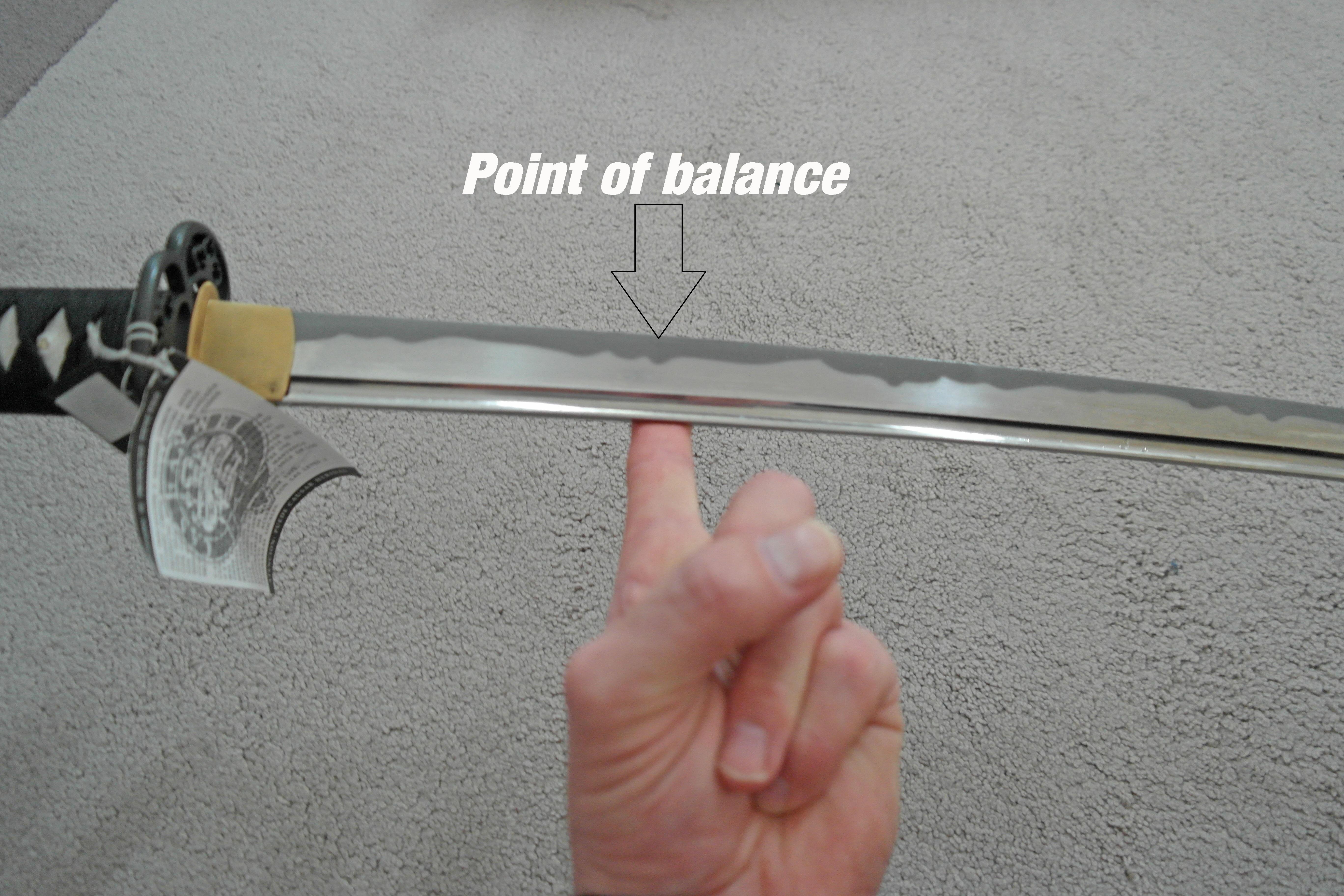 point of balance iaito
